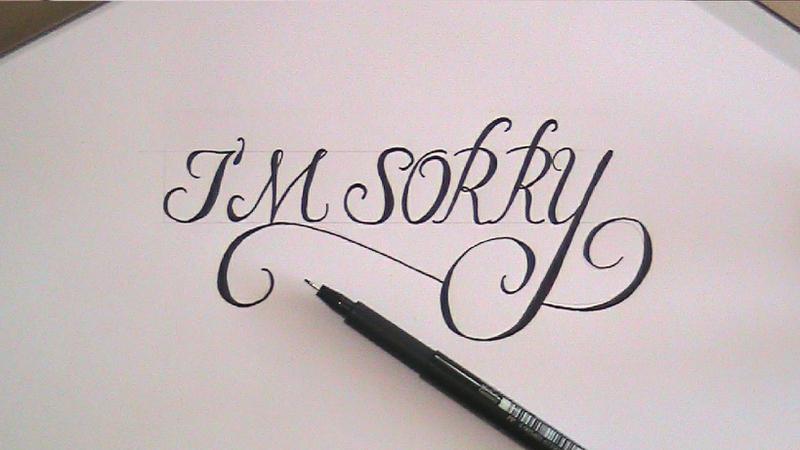 3 Moving Im Sorry Letters EnkiRelations