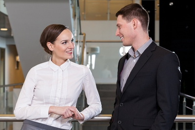 Top 12 Signs Your Female Coworker Is Really into You